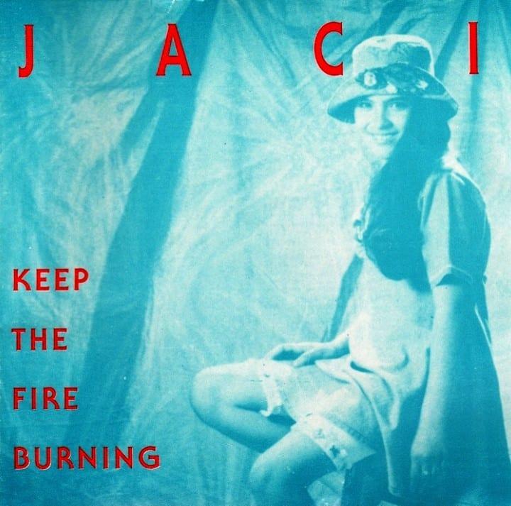Jaci Velasquez - Keep The Fire Burning (1994) CD 8