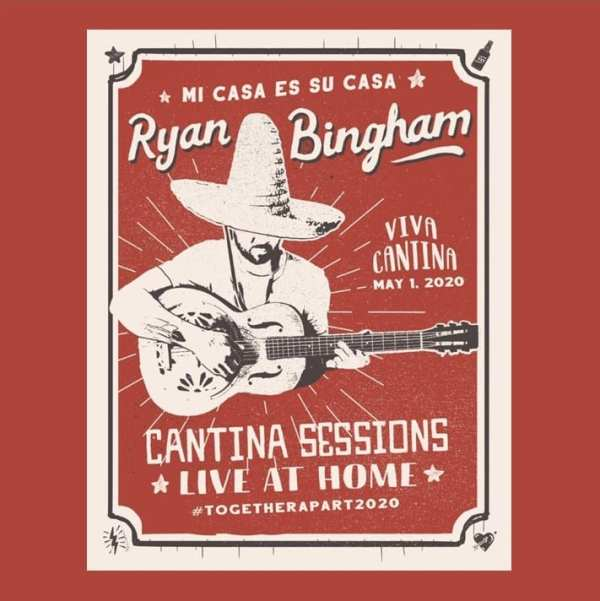 Ryan Bingham - Cantina Session Live At Home (EXPANDED EDITION) (2020) 2 CD SET 1