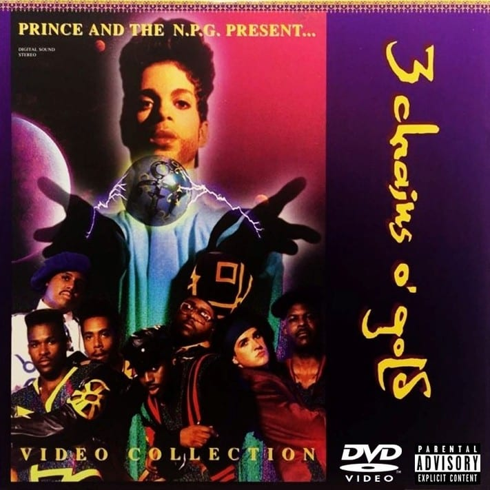 Prince And The New Power Generation - 3 Chains Of Gold (EXPANDED EDITION) (1994) DVD 8