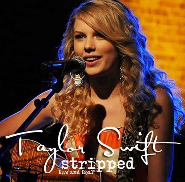 Taylor Swift - Stripped Raw & Real (2009) CD 4
