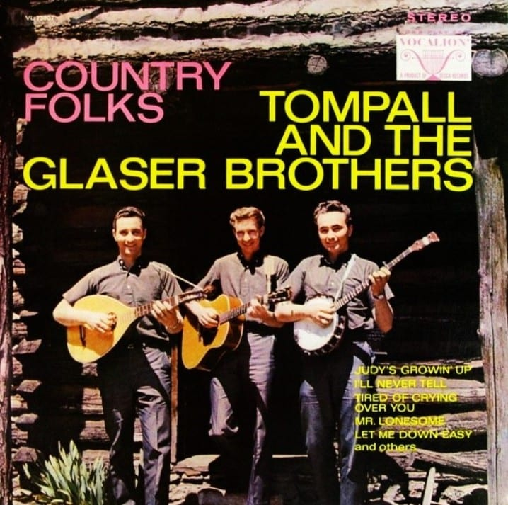 Tompall And The Glaser Brothers - Country Folks (1967) CD 9