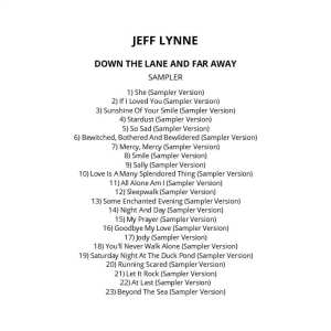 Jeff Lynne ‎- Down The Lane And Far Away (Promo / Sampler) 2012) CD 70