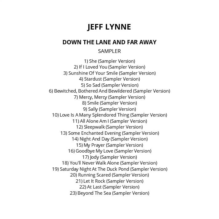 Jeff Lynne - Long Wave (EXPANDED EDITION) (REMASTERED) (2012 / 2016) CD 10