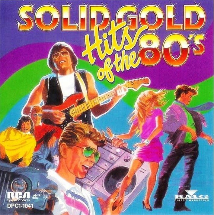 Various ‎Artists - Solid Gold Hits Of The 80's (1992) CD 4