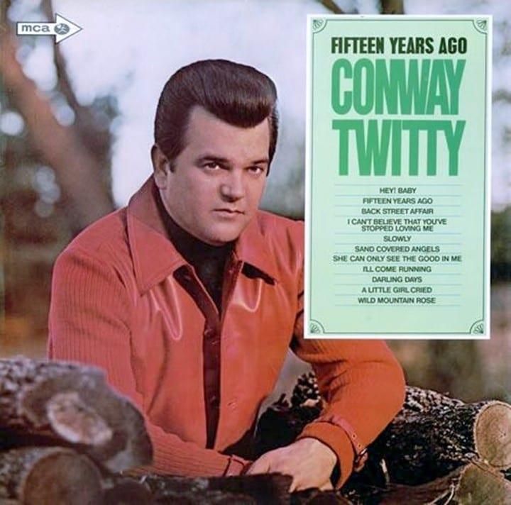Conway Twitty - Fifteen Years Ago (+ BONUS TRACK) (1970) CD 9