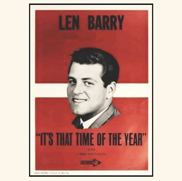 Len Barry - It's That Time Of Year (UNRELEASED ALBUM) (EXPANDED EDITION) (1966) CD 1