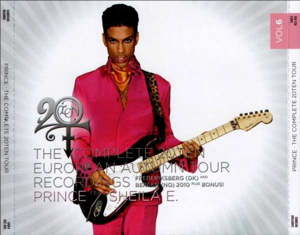 Prince - The Complete 20Ten European Autumn Tour Recordings Vol. 6 (#SAB 422-425) (2011) 4 CD SET 1