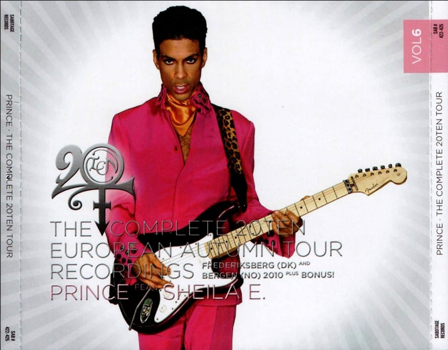 Prince - The Complete 20Ten European Summer Tour Recordings Vol. 5 (#SAB 396-399) (2010) 4 CD SET 8