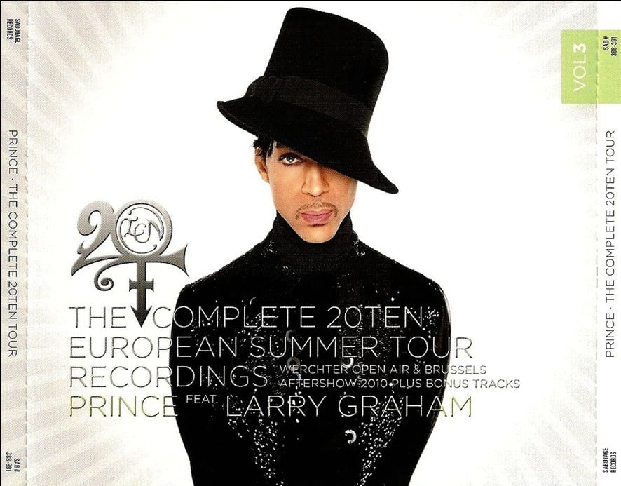 Prince - The Complete 20Ten European Summer Tour Recordings Vol. 4 (#SAB 392-395) (2010) 4 CD SET 7