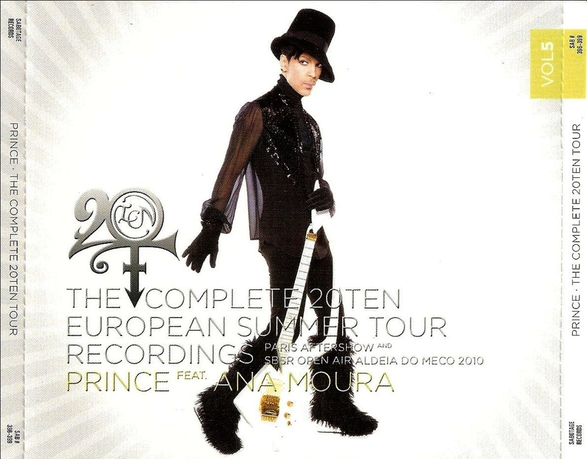 Prince - The Complete 20Ten European Autumn Tour Recordings Vol. 6 (#SAB 422-425) (2011) 4 CD SET 7