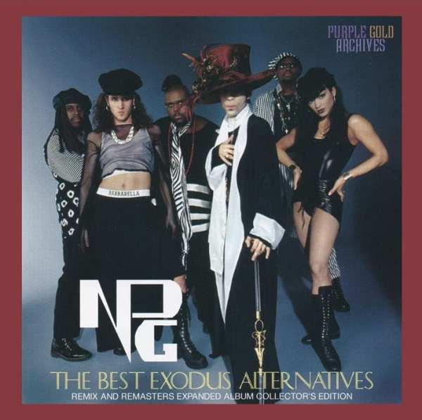Prince & The NPG - The Best Exodus Alternatives (Remix Remastered And Extended Collector's Edition) (2019) 2 CD SET 1