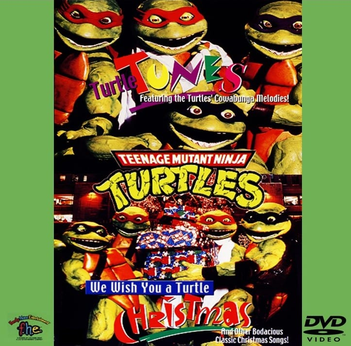 Teenage Mutant Ninja Turtles - Turtle Tunes / We Wish You A Turtles Christmas (1994) DVD 7