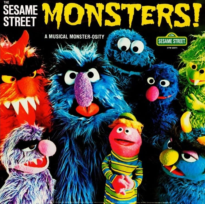 The Sesame Street Monsters!