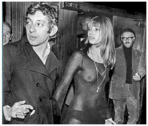 With Jane Birkin