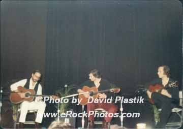 With Al Dimeiola & John Mclaughlin Photo by David Plastik - Click To Order Quality Prints - Discount code: 10OFF