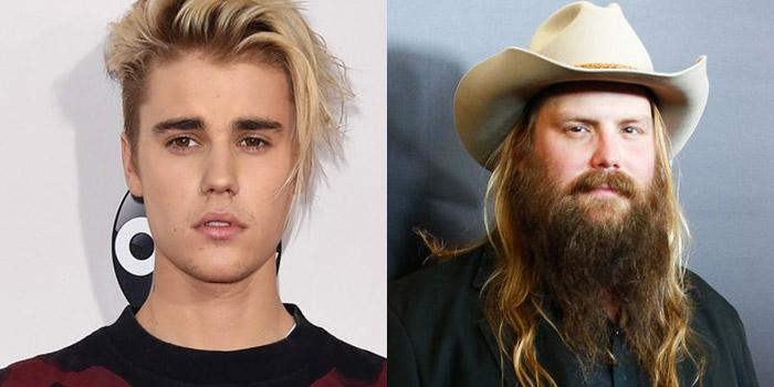 Justin Bieber, Chris Stapleton