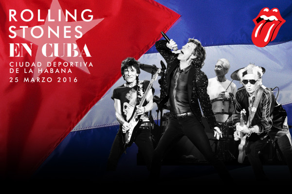 The Rolling Stones announce free Cuba concert