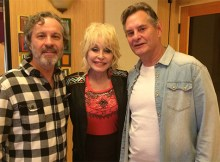 Dolly Parton with Ray Bunch & Mark Leggett