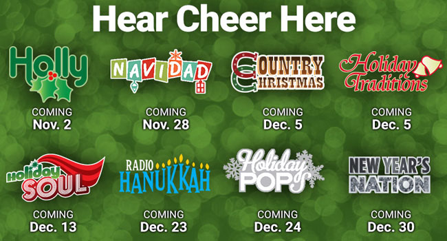 siriusxm announces holiday music channels the music universe - Xm Country Christmas