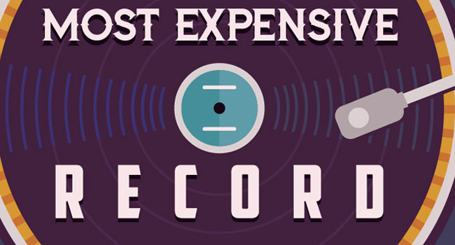 Most Expensive Vinyl Records