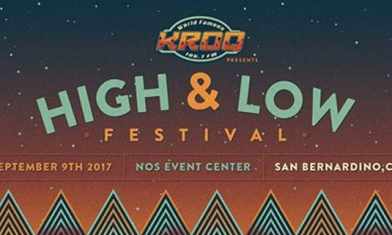 Death Cab For Cutie headlining High and Low Festival