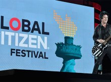 Green Day perform at Global Citizens Festival 2017