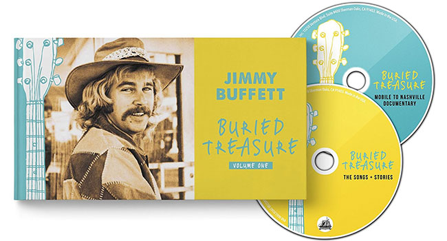 Jimmy Buffett reveals historical collection of 'Buried Treasure'