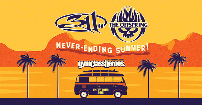 311, The Offspring announce joint Never-Ending Summer Tour