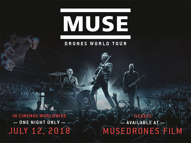 Muse releasing one night only cinema concert film