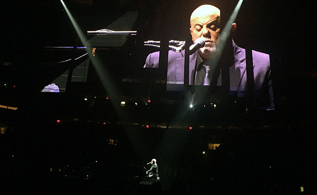 Billy Joel live at Madison Square Garden 9/30/18