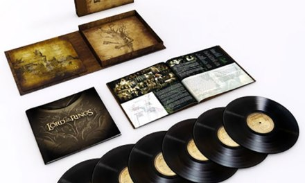 'The Lord of the Rings' trilogy soundtrack set for 6 LP