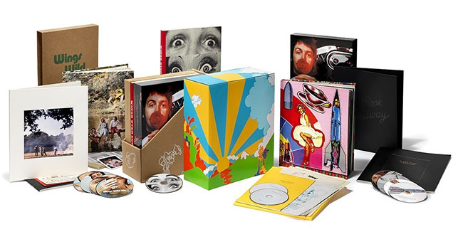 aul McCartney and Wings - 1971–73 Limited Edition Box Set