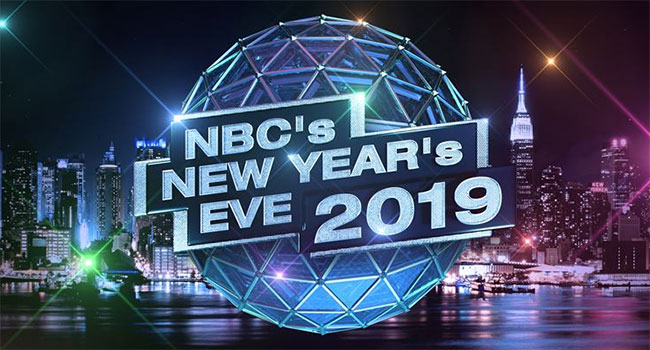 Keith Urban performing on 'NBC's New Year's Eve'
