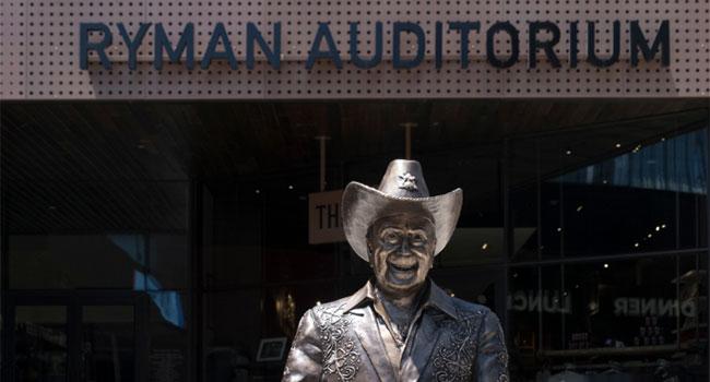 Ryman Auditorium plans Icon Walk for plaza