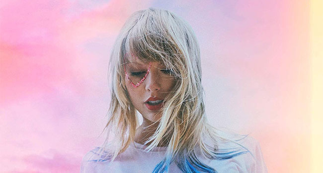 Taylor Swift goes platinum with 'Lover'
