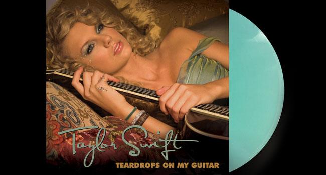 """Taylor Swift - Teardrops On My Guitar 7"""" Vinyl Single"""