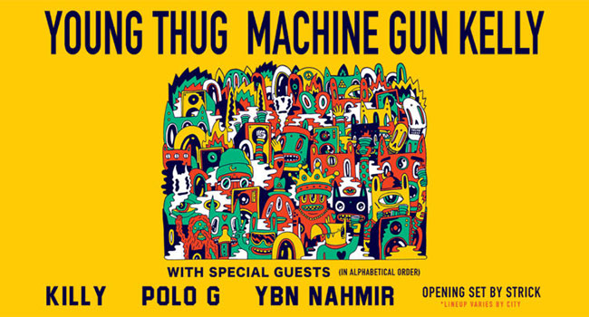 Young Thug & Machine Gun Kelly Fall 2019 Tour
