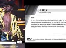Lil Nas X TOPPS trading card
