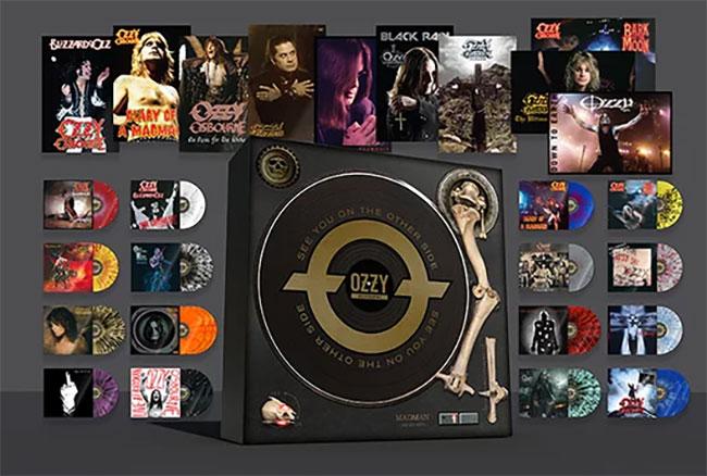 Ozzy Osbourne announces definitive vinyl box set