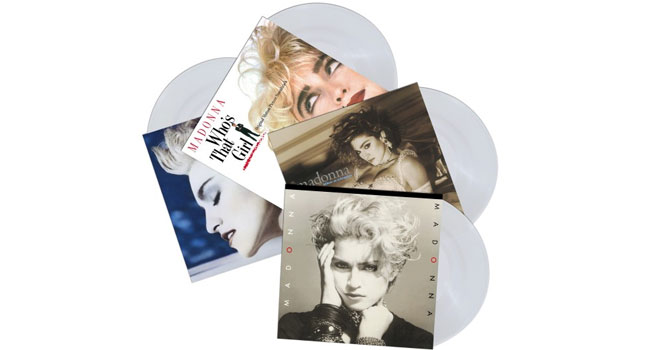 First four Madonna albums getting crystal clear vinyl reissues