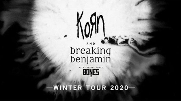 Korn, Breaking Benjamin announce 2020 North American tour