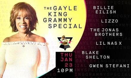Gayle King hosting GRAMMYs primetime special