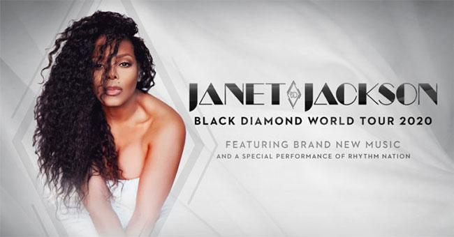 Janet Jackson Black Diamond World Tour 2020
