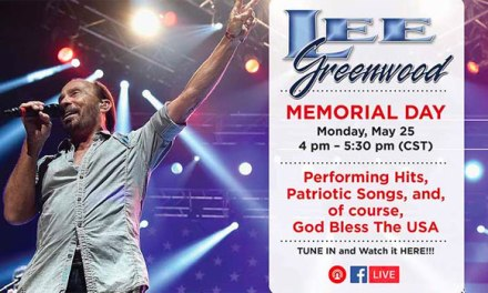 Lee Greenwood performing free full Memorial Day concert on Facebook Live