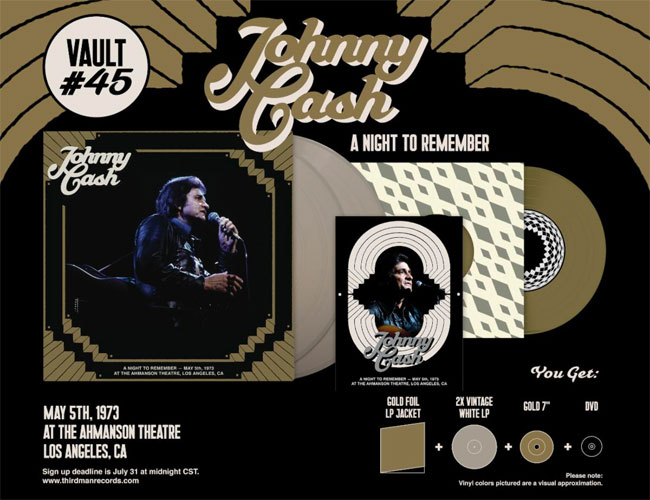 Third Man Records Johnny Cash Vault Package