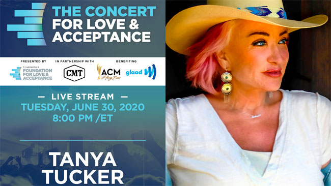 Tanya Tucker - The 2020 Concert for Love and Acceptance