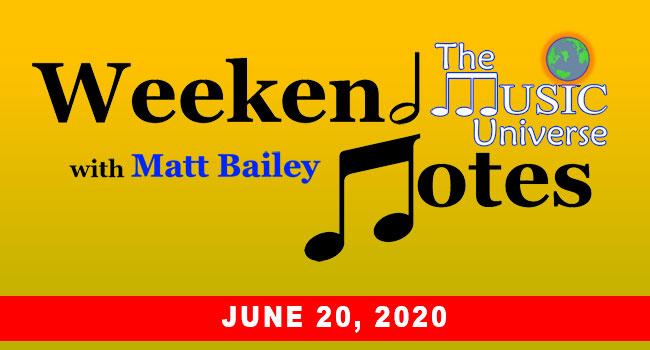 Weekend Notes June 20, 2020