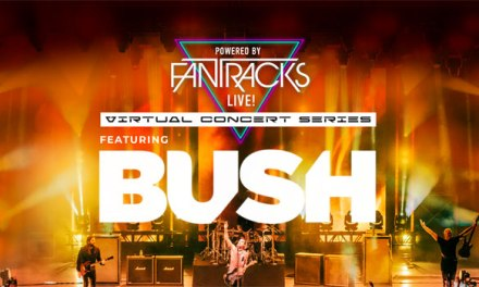 Bush performing free livestream concert with FanTracks