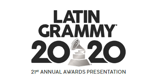 Frontline workers performing with Pitbull at 21st Annual Latin GRAMMYs