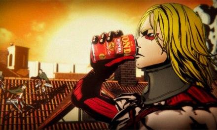 Yoshiki transforms into super drum titan for 'Attack on Yoshiki'
